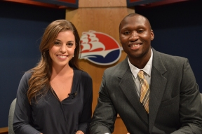 Fall 2014 Anchors Holly Harrar and Le'Quan Chapman