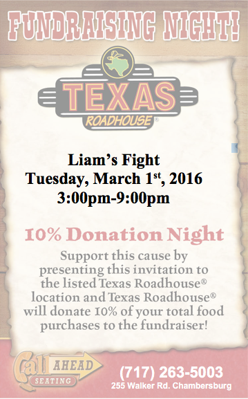 Texas Road House Flyer