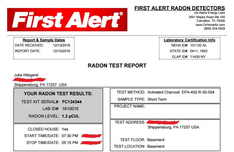 radon-report